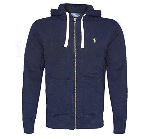 899551c3d Ralph Lauren POLO MENS FLEECE/HOODIE JUMPER DARK GREY, GREY, NAVY Size  S,M,L,XL,XXL: Amazon.co.uk: Clothing