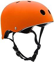 Skateboard Helmet for Kids Youth Adult, Bike Helmet CPSC Certified for Skate Scooter Rollerblade Roller Skate