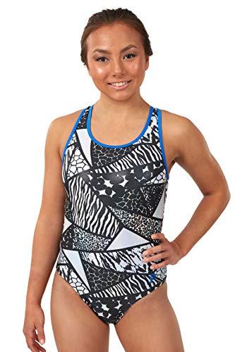 (Plum Practicewear Iggy Metallic Racerback Leotard | Gymnastics & Dance for Women & Girls)