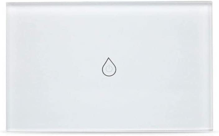 GHMOZ Electrical Equipment WiFi Boiler Smart Switch Water Heater Switches Voice Remote Control US Standard Touch Panel Timer Outdoor Work Alexa Google Home (Color : 16A Horizontal)