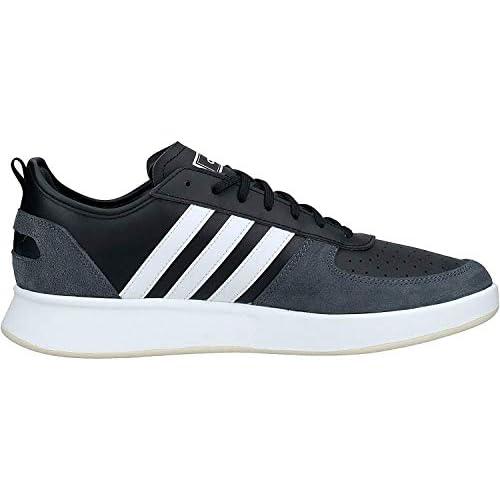 chollos oferta descuentos barato Adidas Court80s Zapatos de Tenis para Hombre Core Black FTWR White Grey Six 44 2 3 EU
