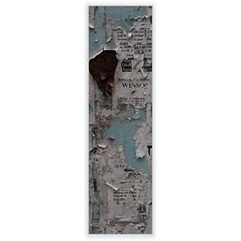 Diseño de disco para Ikea lámpara de pared gyllen en formato vertical con diseño: pared con periódicos
