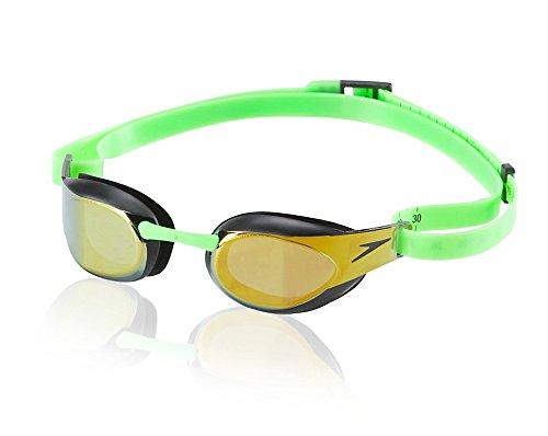 Speedo Fastskin3 Elite Mirrored Goggle Green 1SZ