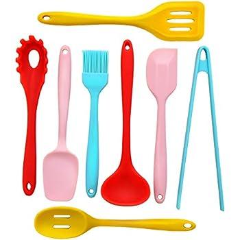 Kitchen Utensil Set   8 Silicone Kitchen Utensils   Nonstick Cooking  Utensils Set   Turner,