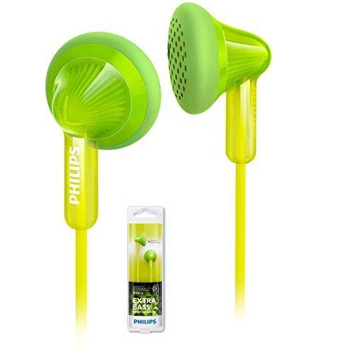 Philips SHE3010GN In-Ear Headphones 14.8mm open-back Earbud SHE3010 -