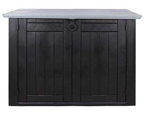 Keter 6028 Store It Out Max, Universalbox für Mülltonnen und Sonstiges, anthrazit / grau (Keter XL Anthrazit Grau)