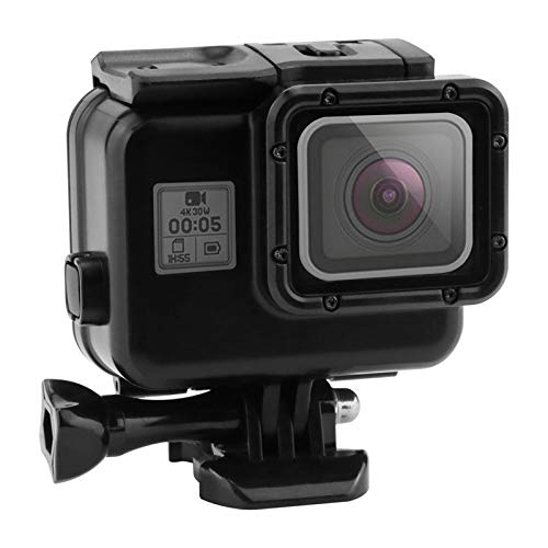 hicollie Waterproof Case for GoPro Hero 7 Black Hero 5//6 2019 Accessories Housing Case Diving Protective Housing Shell 40 Meter for Go Pro Hero7 Hero6 Hero5 Action Camera with Bracket-Black