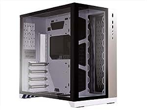 Lian Li PC-O11 Dynamic Carcasa de Ordenador Midi-Tower Blanco - Caja de Ordenador (Midi-Tower, PC, Aluminio, SECC, Vidrio Templado, ATX,EATX,Micro-ATX, Blanco, 0,8 mm)