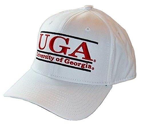 georgia-bulldogs-uga-bar-design-the-game-white-snapback-hat