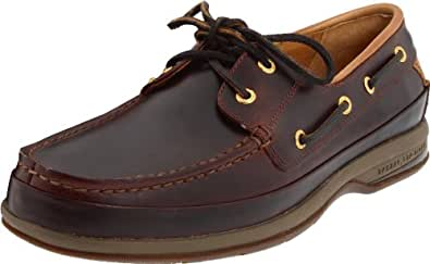 Sperry Top-Sider Men's Gold 2 Eye Boat Shoe,Amaretto,7 M US