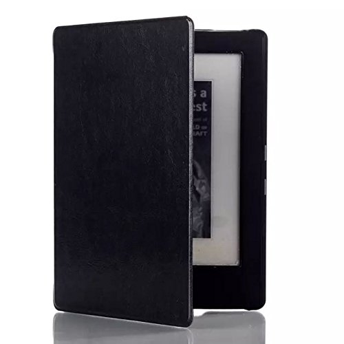Case for Kobo Aura H2O 6.8 Inch Guard Sleeve Flip Tablet Cover Shell eBook Reader H20 (Black)