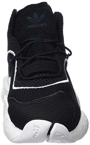 real footwear Adidas core Purple 0 Byw White Black Basketball Chaussures De Noir Homme Crazy 7zx70wrP