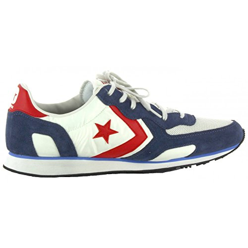 A vaporous Converse Gray Distressed Navy Racer Uomo Collo Auckland Multicolore Basso athletic Ox Sneaker qwwXxUvf
