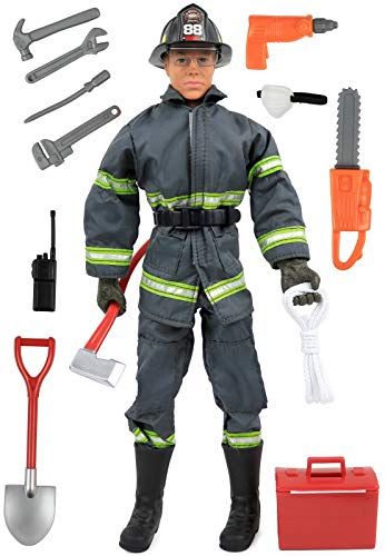 Click N' Play CNP30633 Search & Rescue Firefighter 12