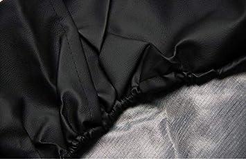 Comily Plus Couverture de Roue de Secours Universelle en PVC Noir 31.6-32.8 en diam/ètre