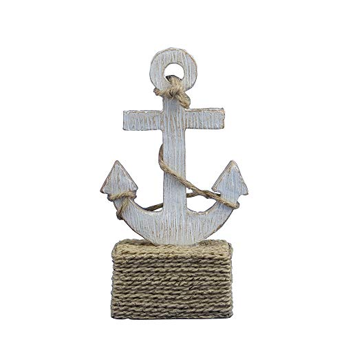 Marine Whales, Ship Anchors Animal Decorations Business Card Holders. (Anchor)