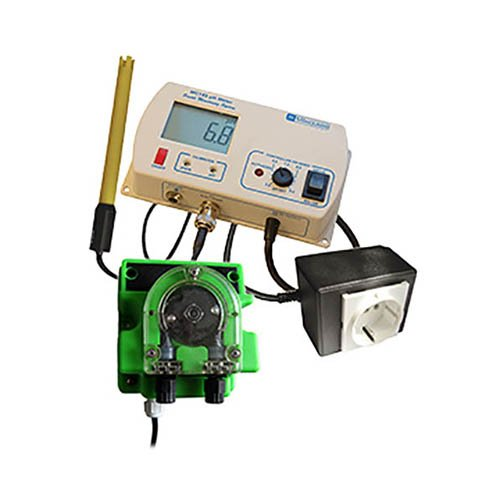 Milwaukee Instruments MC720 pH Controller with Mp810 Dosing Pump, 0 Degree C To 50 Degree C Temperature Range, 0.1 pH Resolution