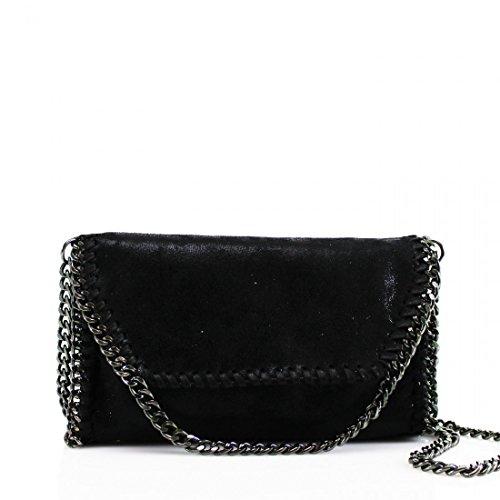 Black Cross YDezire® Shoulder Body Work Designer Womens Ladies Detail New Bag bag Chain xCqZC7