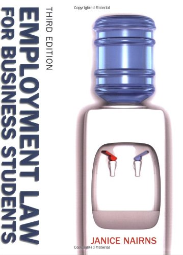 Employment Law for Business Students por Janice Nairns