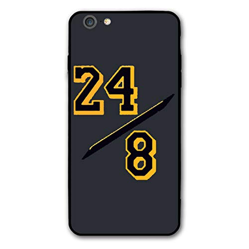 Favorite Basketball Player iPhone 6/6s Plus Case KOB-e Bryant Black-Mamba Phone Case Cover Suitable for iPhone 6/6s Plus