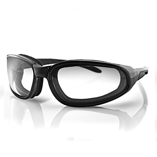 Bobster Hekler Sport Sunglasses,Black Frame/Smoke Lens,One Size
