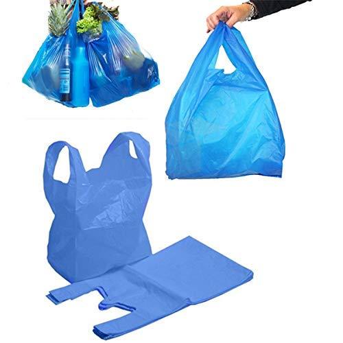 Plástico Chaleco Compra Resistente Bolsas Azul Blanco Negro ...