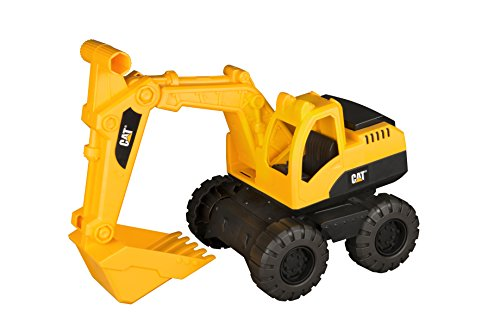 (Toy State Caterpillar CAT Tough Tracks Construction Crew Excavator Vehicle)