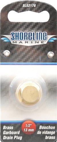 Shoreline Marine Garboard Plug Only Brass