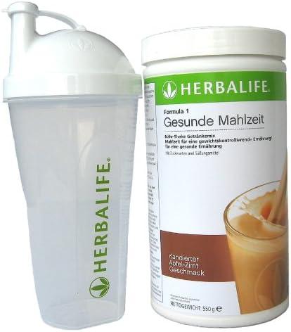 Herbalife Fomula 1 Gesunde Mahlzeit Apfel-Zimt mit Shaker