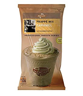 MOCAFE Frappe Caramel Ice Blended Coffee, 3-Pound Bag Instant Frappe Mix, Coffee House Style Blended Drink Used in Coffee Shops (B001ABTGCG) | Amazon price tracker / tracking, Amazon price history charts, Amazon price watches, Amazon price drop alerts