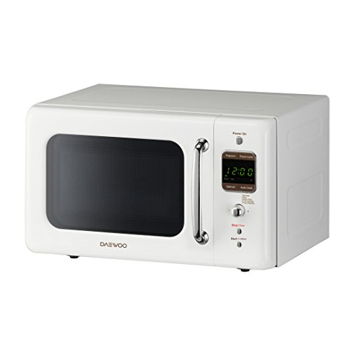 Daewoo Retro Microwave Oven 700w 0 7 Cu Ft Cr 232 Me