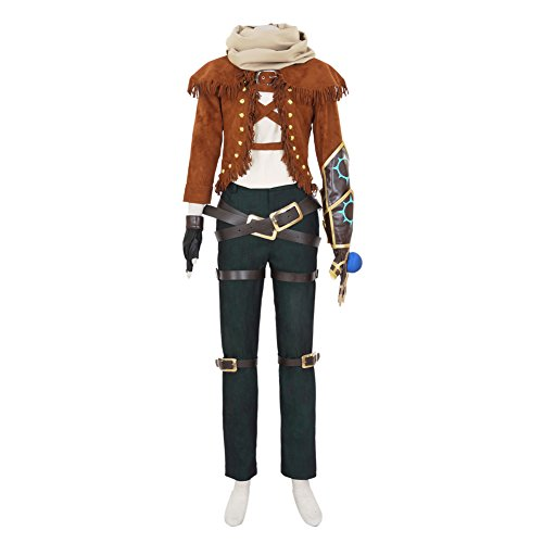 [CG Costume Men's LOL Ezreal EZ Explorer Cosplay Costume XLarge] (League Of Legends Annie Cosplay Costume)