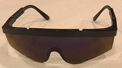 Head & Face Protections, Safety Glasses,Crews Eye Wear 5011Black, Universal by Crews (Image #1)