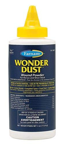 Farnam Wonder Dust Wound Powder for Horses and Show Stock, 4 oz