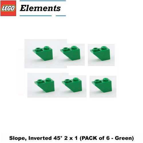 nverted 45° 2 x 1 (PACK of 6 - Green) ()