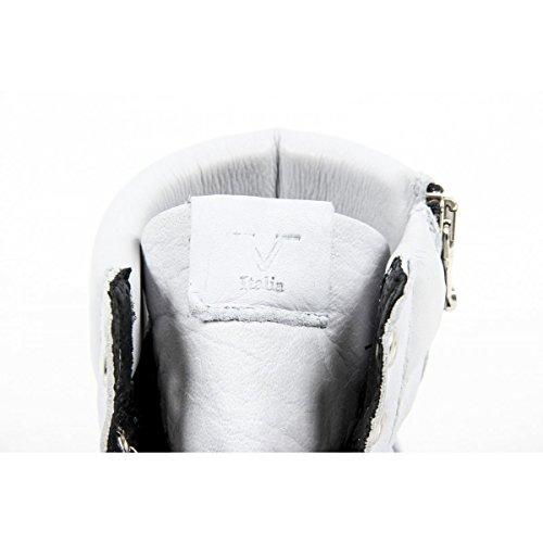 Versace 19.69 Zapatillas Hombre Alto - Arriba 100% Piel De Becerro