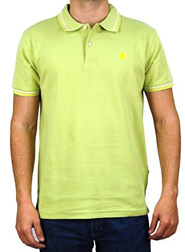 Polo Tapiocca Basic For Men manica Lima Green Coronel corta v5Fdxvw