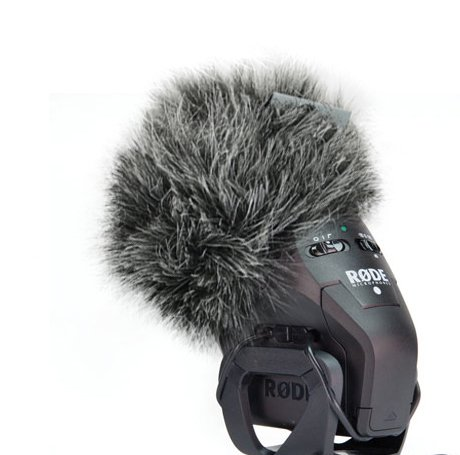 Micover Slipover-Mini Windscreen for RODE Stereo VideoMic Pro (Stereo) SVMP