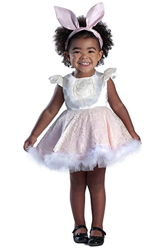 Deluxe Bunny Costumes (Princess Paradise Baby Ivy the Bunny Deluxe Costume, As Shown, 3T-4T)
