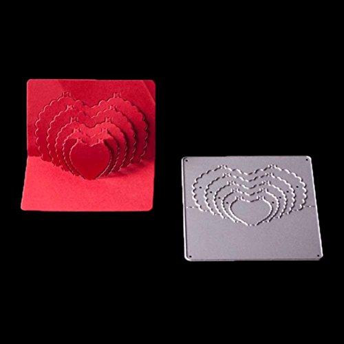 Metal Die Cutting Dies,iHPH7 Stencil for DIY Scrapbooking Album Paper Card Decor Craft Folder M-99