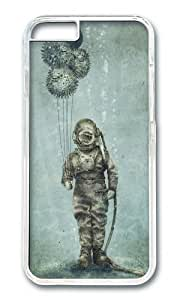 Apple Iphone 6 Case,WENJORS Awesome Balloon Fish Hard Case Protective Shell Cell Phone Cover For Apple Iphone 6 (4.7 Inch) - PC Transparent