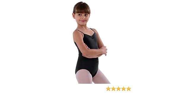 97163b7d6 Amazon.com  So Danca Black Pinched Neckline Dance Leotard Little ...