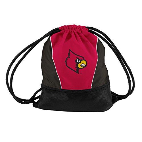 Logo Brands NCAA Louisville Cardinals Sprint Pack, Small, Team - Drawstring Ncaa Louisville Cardinals