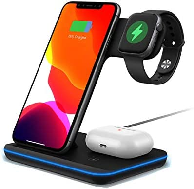 15w Qi Wireless Charger Stand Fast Charging Holder For Iphone 11 Pro 8 X Xs Max Xr Samsung S9 S10 Sale Price Reviews Gearbest