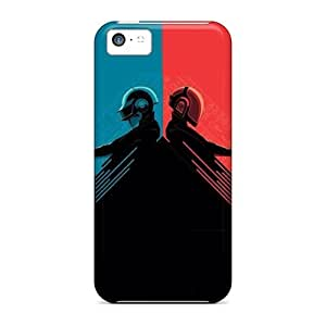 Awesome Case Cover/iphone 5c Defender Case Cover(daft Punk Red And Blue)