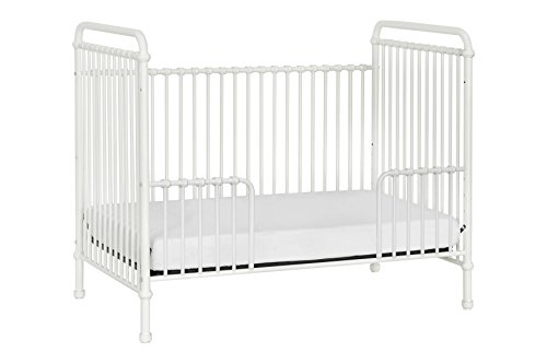 Million Dollar Baby Classic Abigail 3-in-1 Convertible Iron Crib,  Washed White by Million Dollar Baby Classic (Image #7)