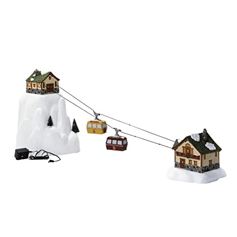 Christmas Village Ski Lift.Amazon Com Department 56 Accessories For Villages Animated
