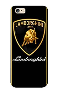 Stylishgojkqt Design High Quality Lamborghini Logo Cover Case With Ellent Style For Iphone 6 Plus(nice Gift For Christmas)