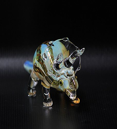 DT Amercian Made Smoking Hand Made Pipe Animal Collection - Triceratops