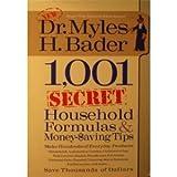 1,001 Secret Household Formulas & Money Saving Tips